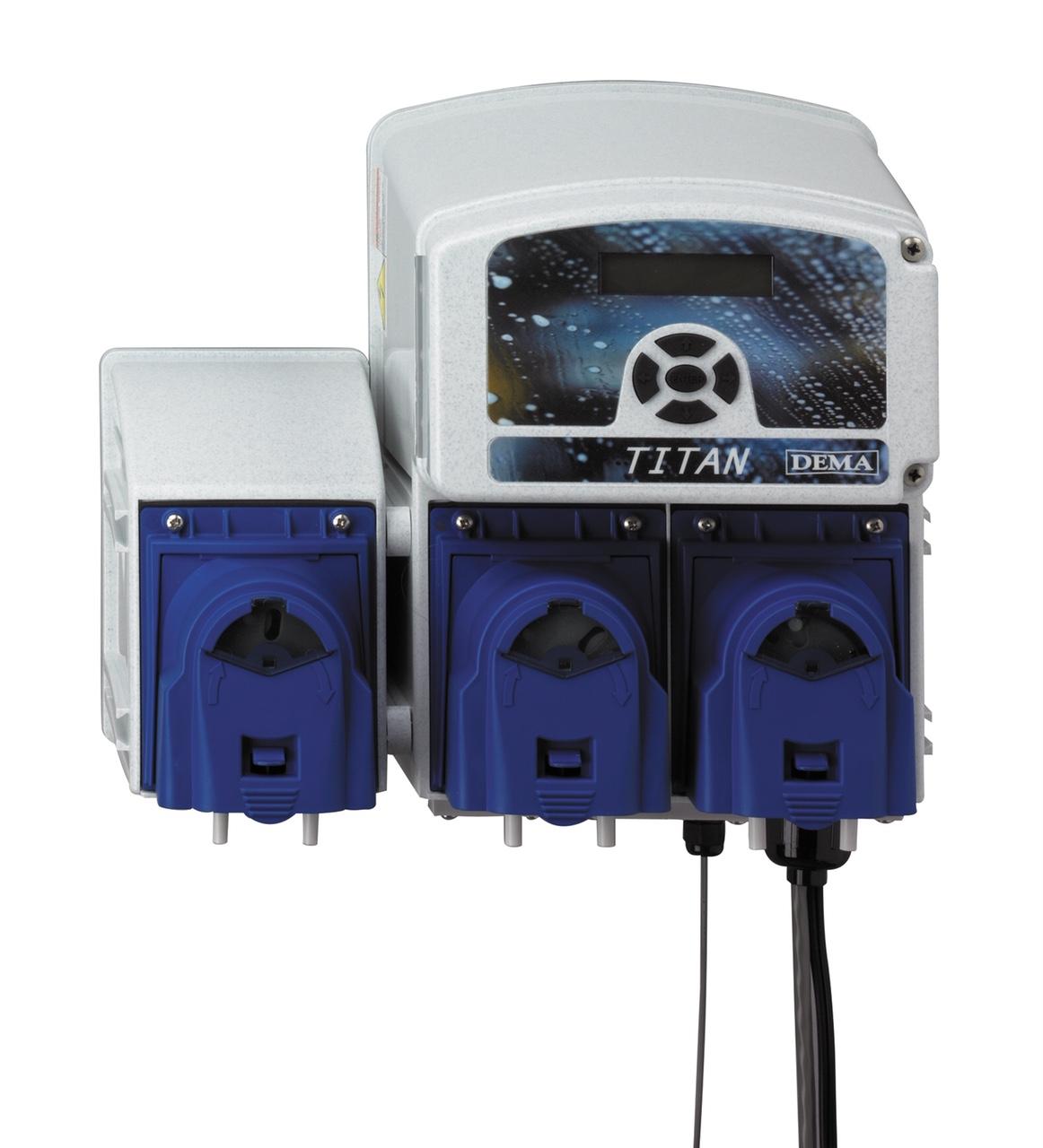 Dema Titan II, Warewash Chemical Dispenser Pumps